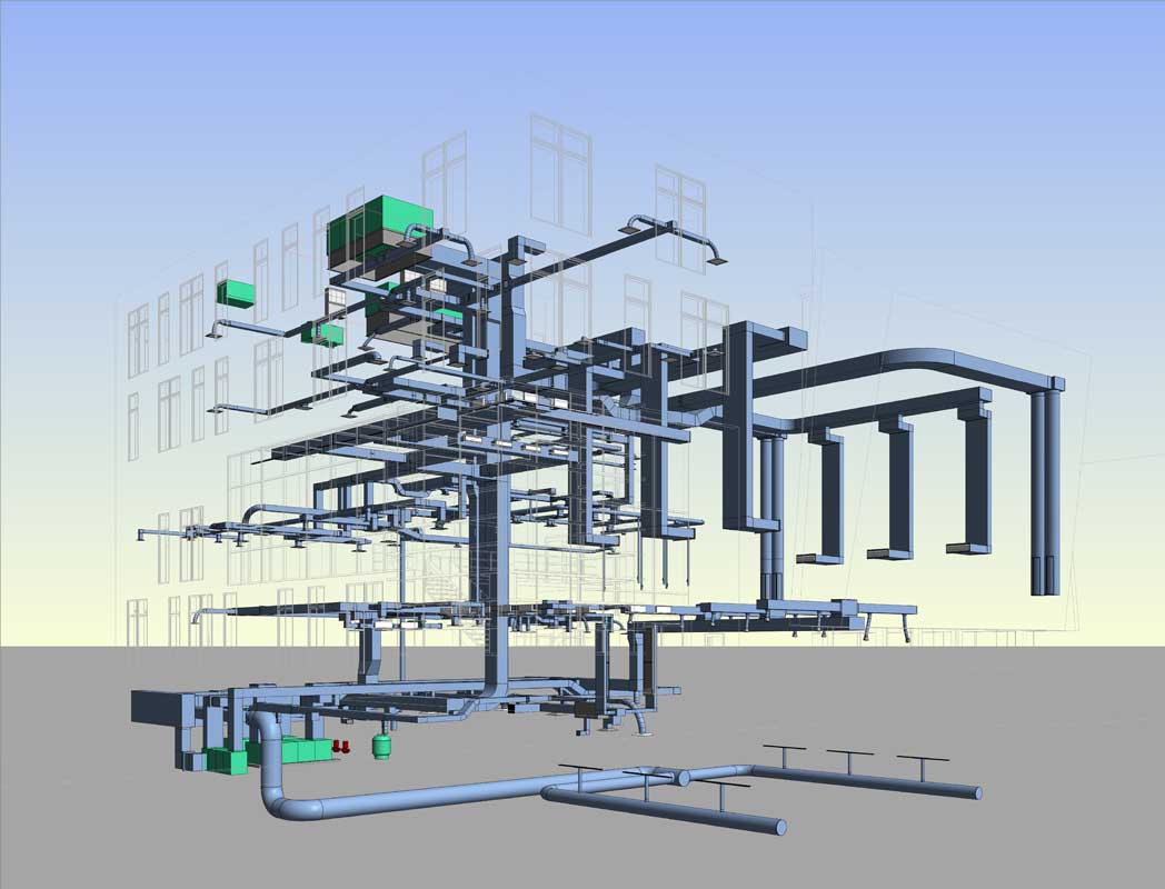 Commercial dlb associates consulting engineers revit bim for mep publicscrutiny Images